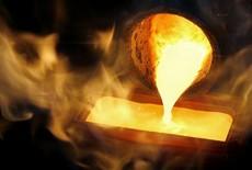gold-smelting